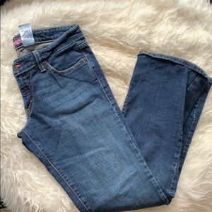 Levi's too super low bootcut jeans